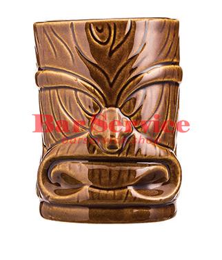 """Стакан д/коктейлей """"Тики"""";керамика 450мл, коричневый. в Калуге"""