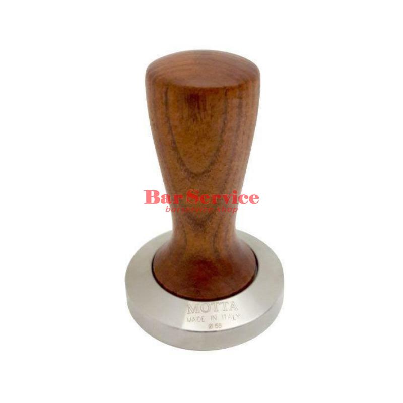 Темпер Мотта SLIM 58 мм. (плоский) рукоятка из дерева в Калуге