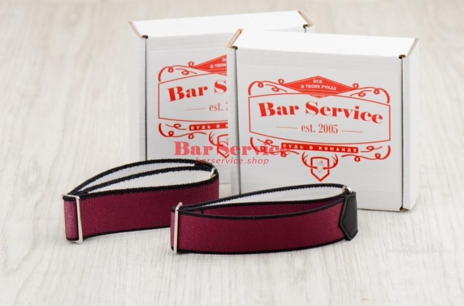 Армбенды, цвет бордо. Bar Service в Калуге