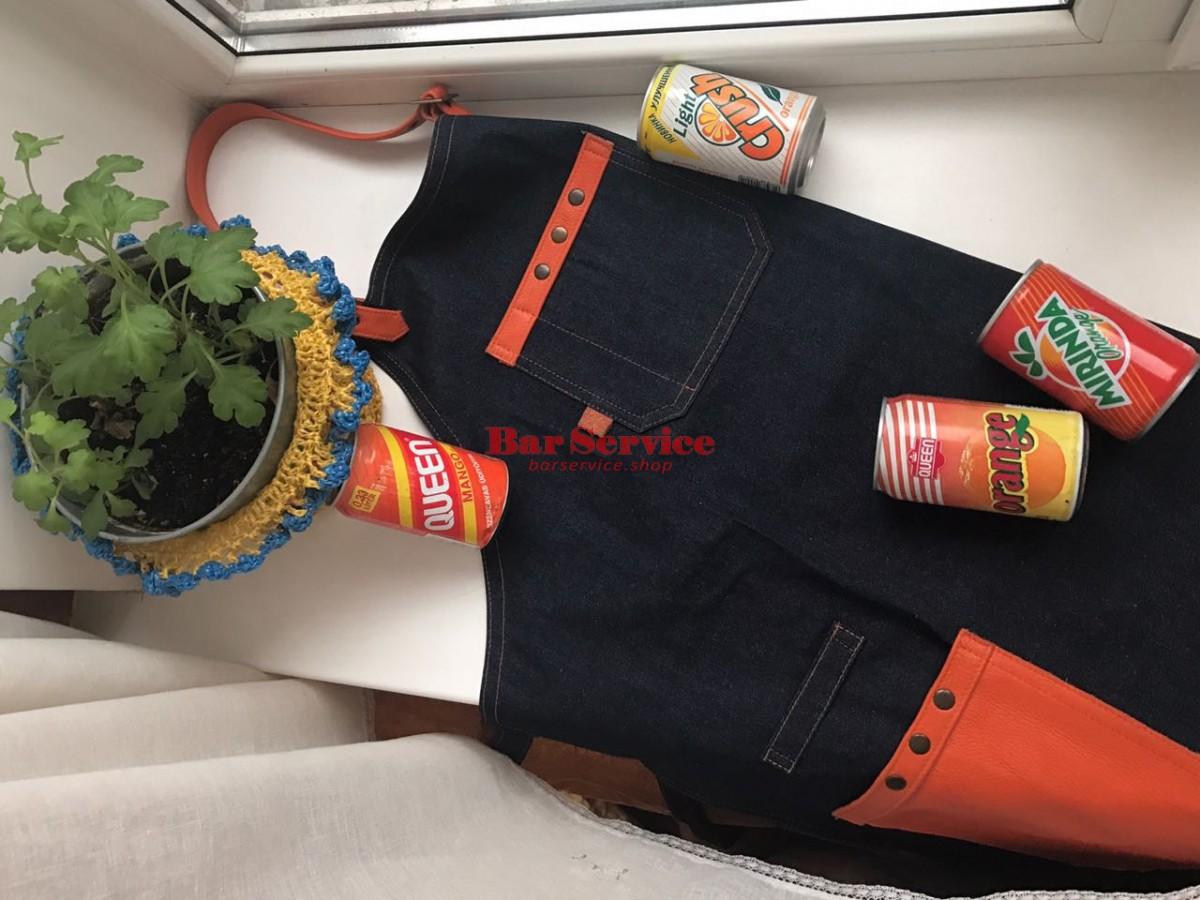 "Фартук барменский ""апельсин"" в Калуге"