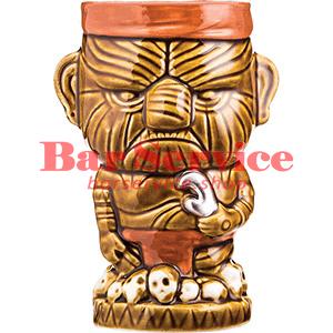 Стакан д/коктейлей «Тики» керамика; 450мл; коричнев. (01170825) в Калуге